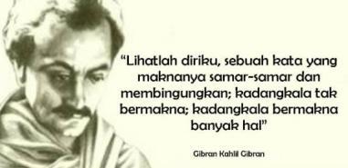 Puisi) Surat Dari Kekasih oleh Khalil Gibran